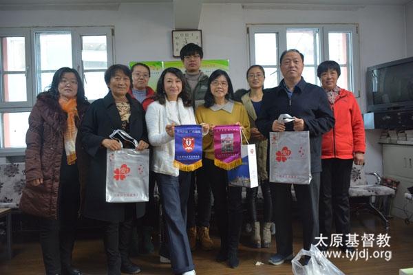 香港爱基金主席蒋丽萍到访山西省基督教两会