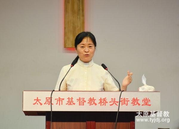 燕京神学院老师应邀在桥头街堂进行主日分享